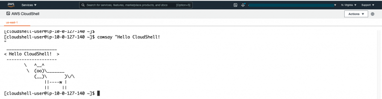 AWS CloudShell – Finally!